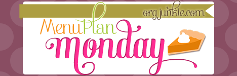 Menu Plan Monday for the week of November 24/14