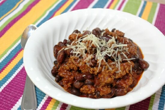 slow cooked chili