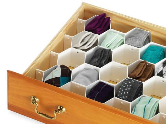 sock drawer organizer