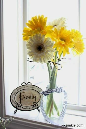family flowers