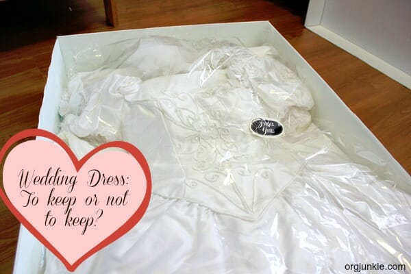 Wedding Dress - to keep or not to keep and some resources to donate to if you decide