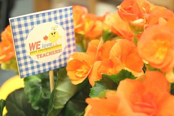 teacher flowers