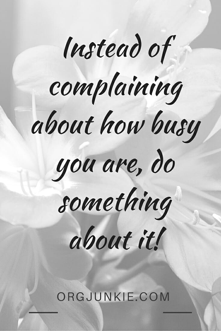 Are you complicating life more than you need to