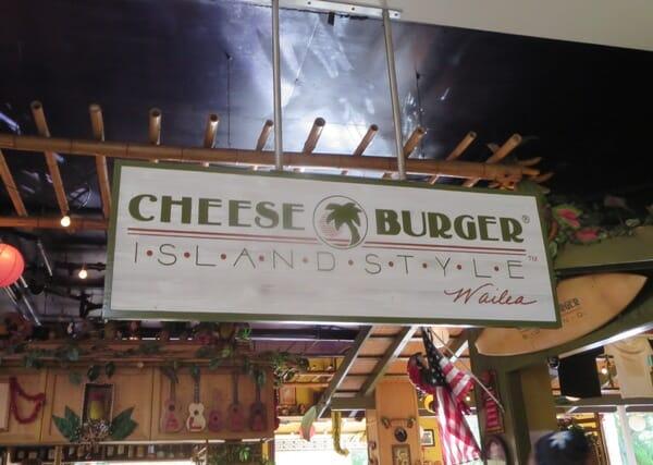 Cheeseburger Island Style
