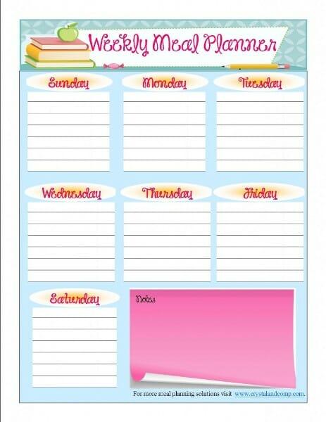 Menu-Planner-Printable