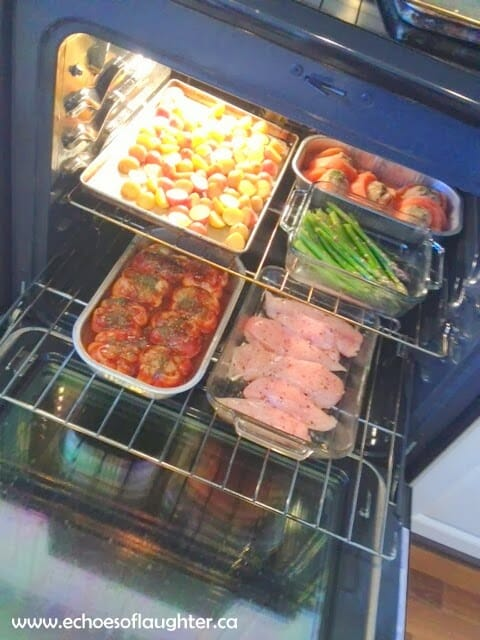 Organize 3 Suppers in One Hour