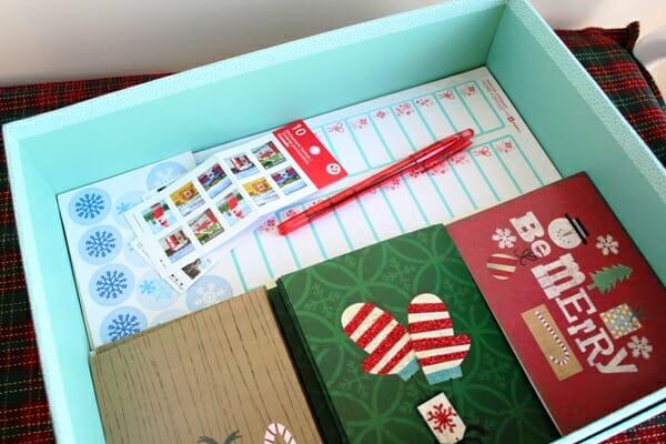 Christmas Card Tool Box 2