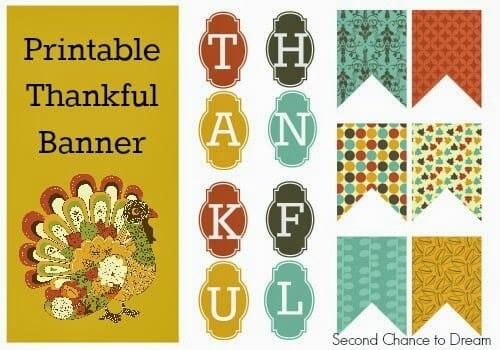 Thankful Banner