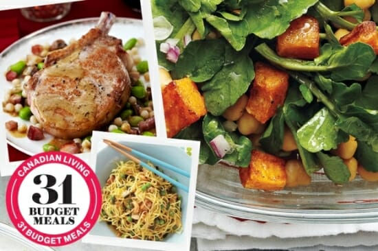 Canadian Living Quick & Easy Budget Meals