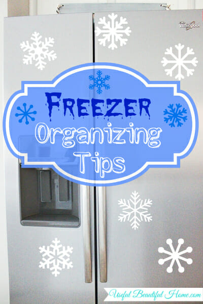 Upright Freezer Organization Tips
