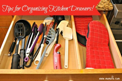 Tips for Organizing Kitchen Drawers