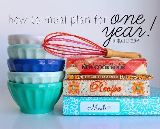 meal plan for one year! raisinguprubies.com