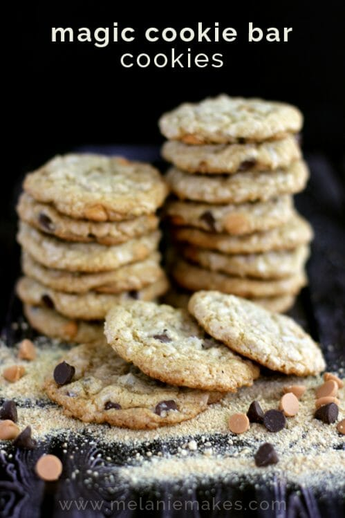 magic cookie bar cookies mm