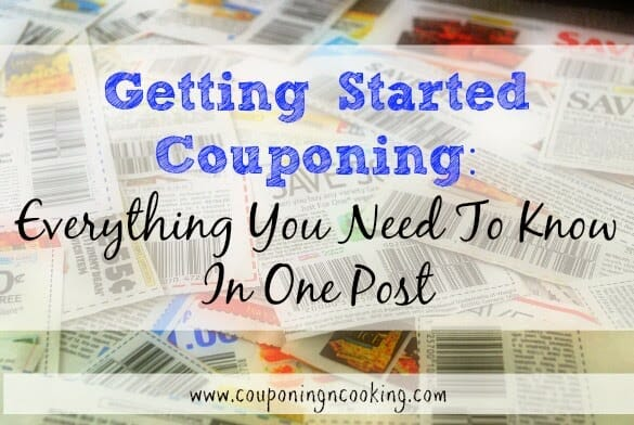 Getting Started Couponing