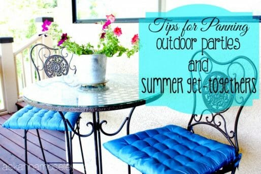 How-to-plan-for-an-Outdoor-Party-and-Summer-Get-togethers