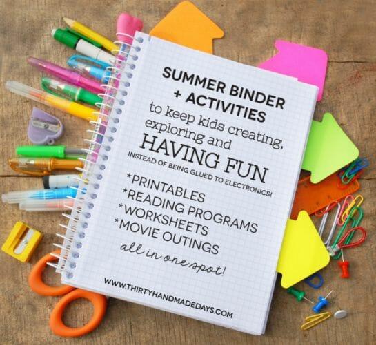Summer Binder Printables