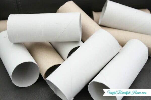 TP rolls, a cheap and easy way to organize men's neck ties for traveling!