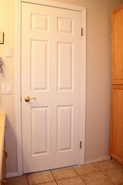 Back of Bathroom Door