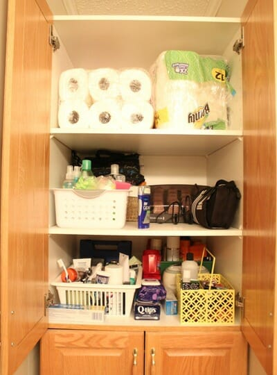 Bathroom Cupboard Before 2
