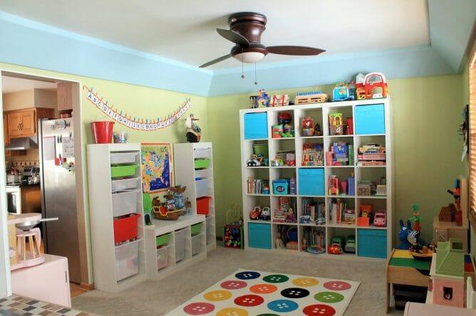 Fun Organized Playroom