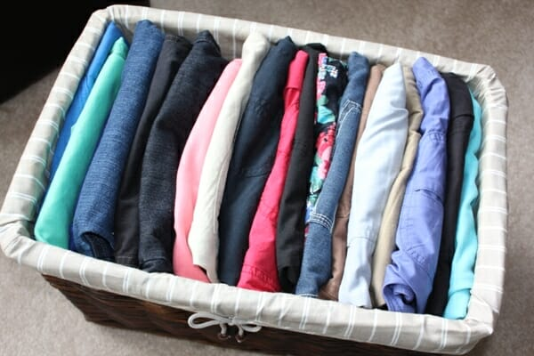 Organizing Shorts for Summer 2