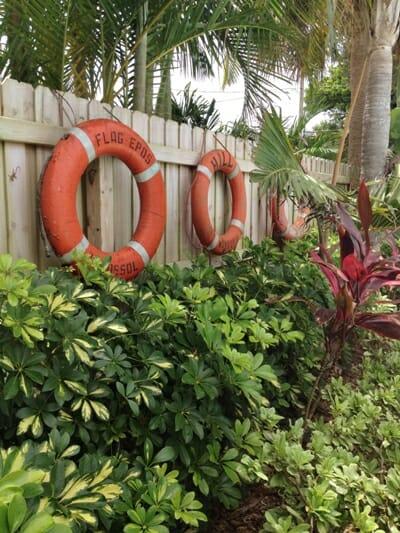 Rental House Pool Area