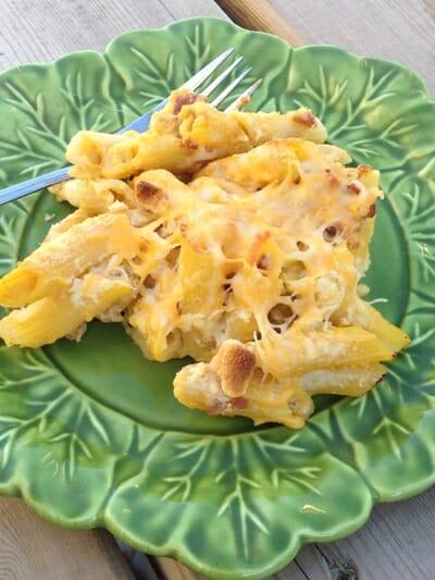 Cheesy Butternut Squash Pasta Bake