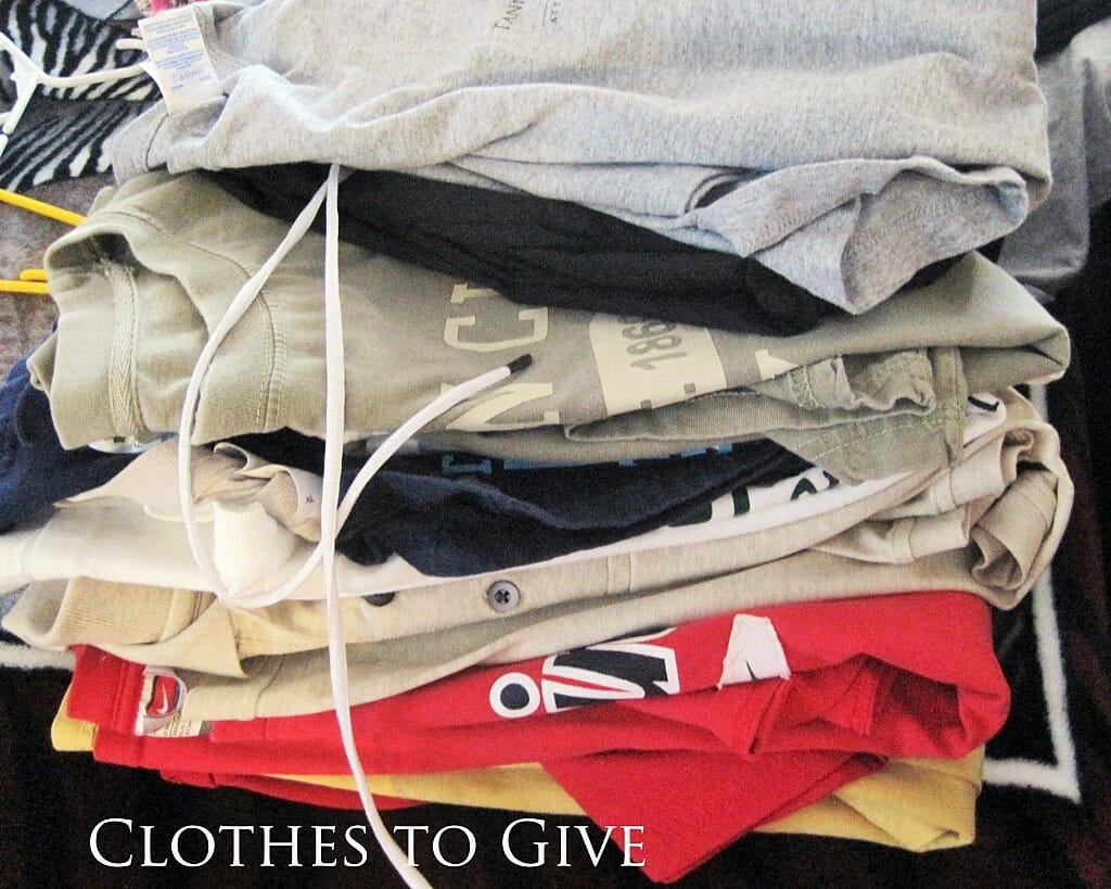clothes to give