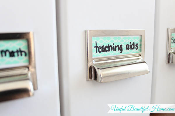 labeling with washitape