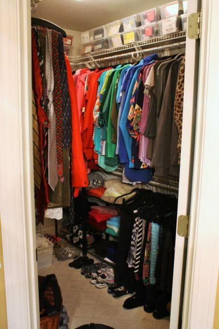 the gold project closet organization 1