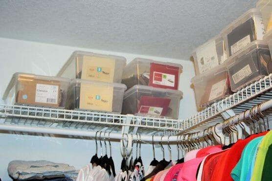 the gold project closet organization 16