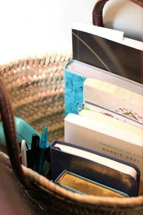 Living Room Quiet Corner Organization 5