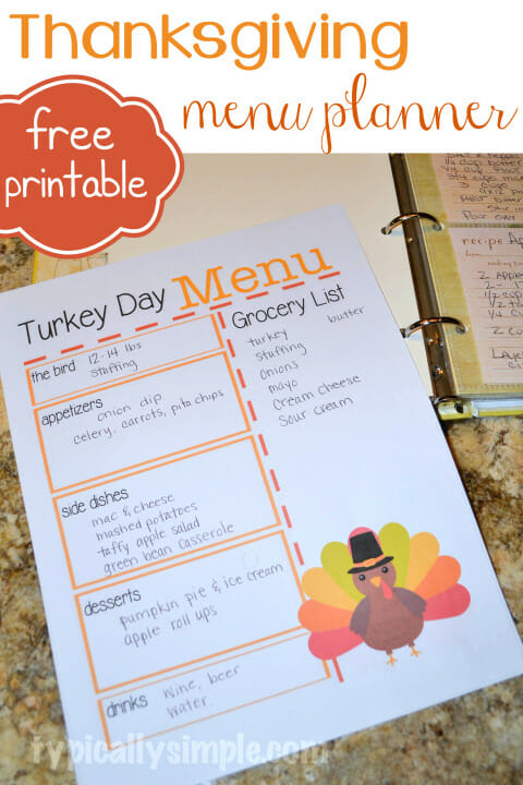 Thanksgiving-Dinner-Menu-Planner-Printable