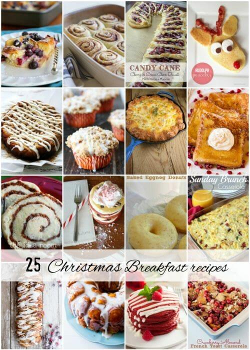 25 Christmas Breakfast recipes