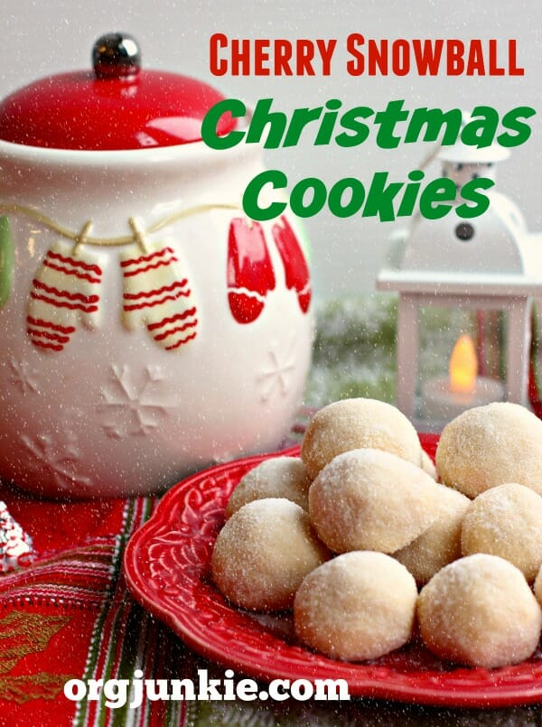 Cherry-Snowball-Christmas-Cookies