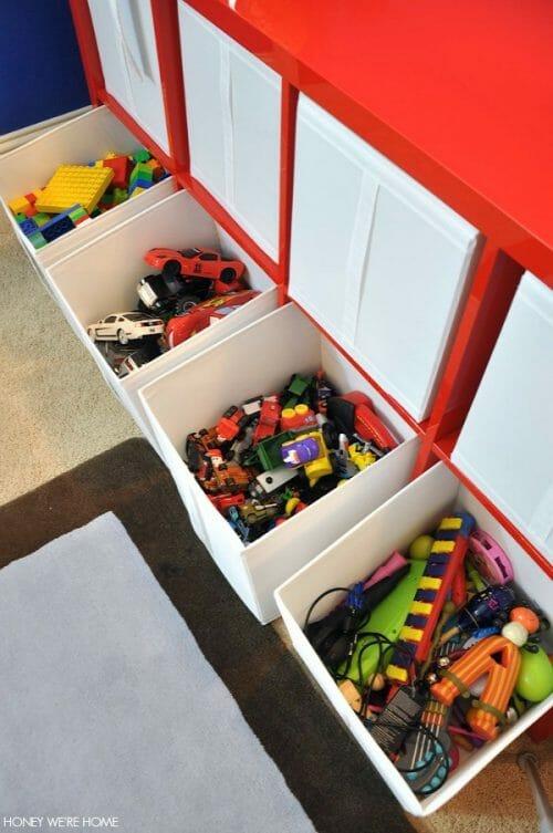 Organized Toys Playroom Honey We're Home