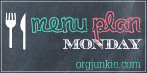 Menu Plan Monday for the week of Jan 5/15