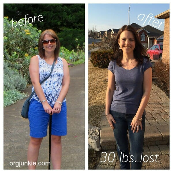 How I organized my weight loss