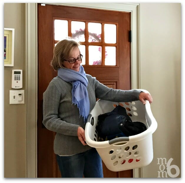 Laundry Basket Clean Up