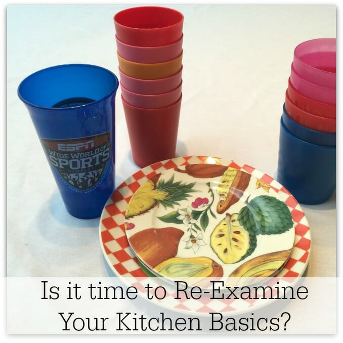 Is It Time to Re-examine Your Kitchen Basics? at I'm an Organizing Junkie blog
