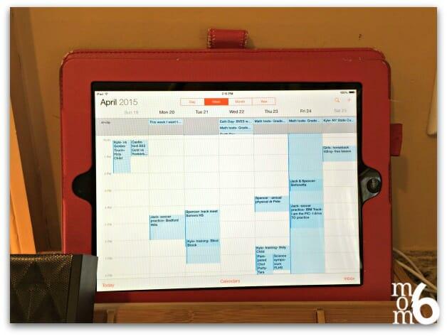 command center- calendar