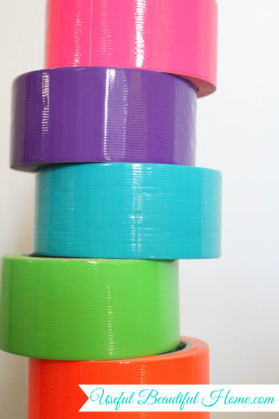 How to use duct tape for your big move