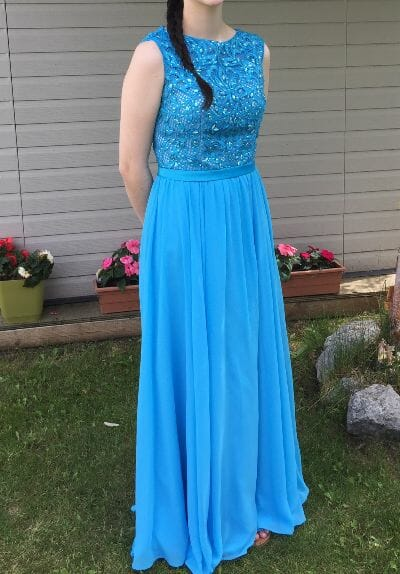beautiful grad dress