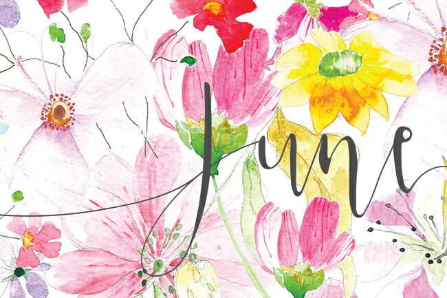 june watercolor