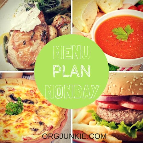 Menu Plan Monday for the week of Nov 2/15. Recipe links and menu planning inspiration!!