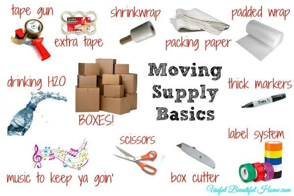 Moving Supply Basics