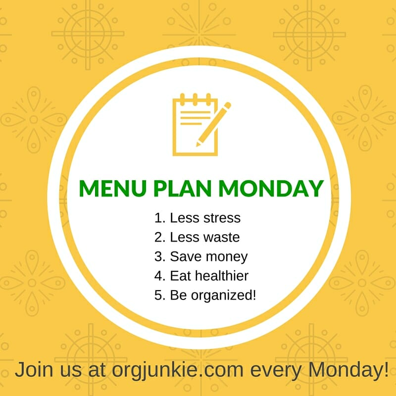 Menu Plan Monday - recipe ideas and menu planning inspiration for the week of February 15/16