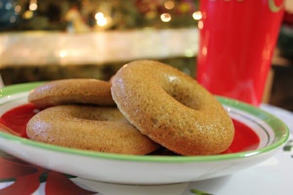 Paleo Almond Baked Donuts