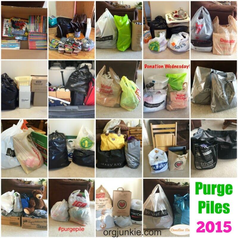 2015 purge piles