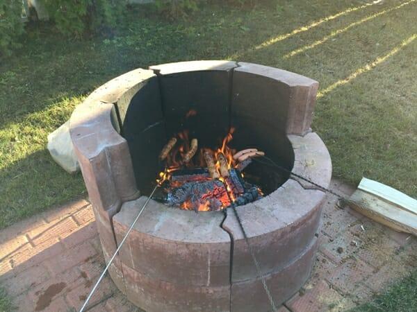 first hot dog roast